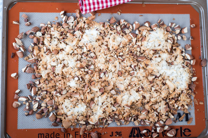 Chocolate Drops Toasted Almonds and Coconut