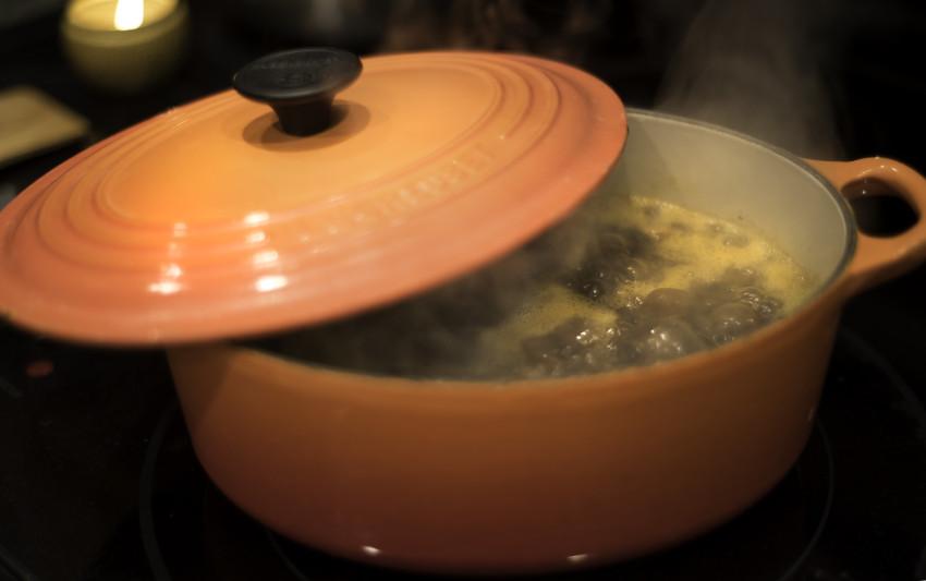 Black Bean Soup Simmer