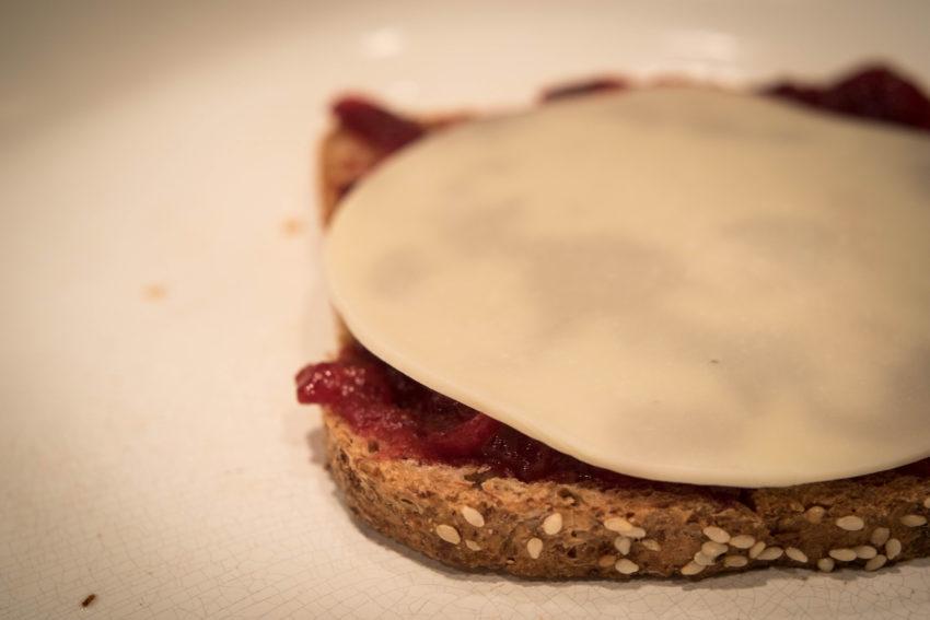 provolone-on-bread